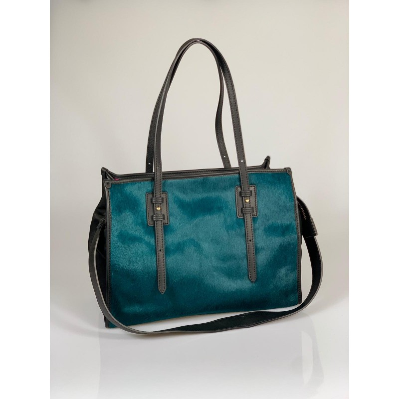 Shopping Bag Cavallino Ottanio