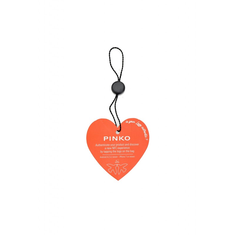 Pinko Love Bag Logo Medium Nera