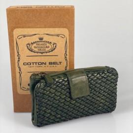 Portafoglio Cotton Belt Intreccio 2 medium