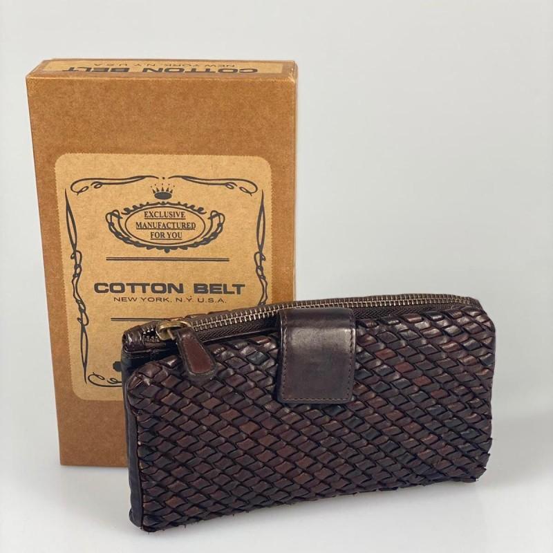 Portafoglio Cotton Belt Intreccio 2 Big