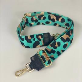 Tracolla leopard accessorio oro