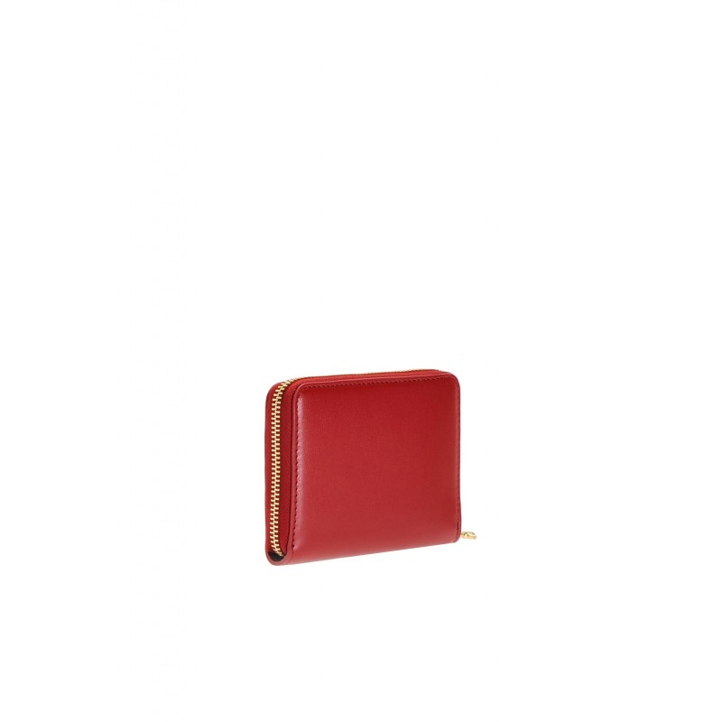 Pinko portafoglio zip-around mini rosso 2
