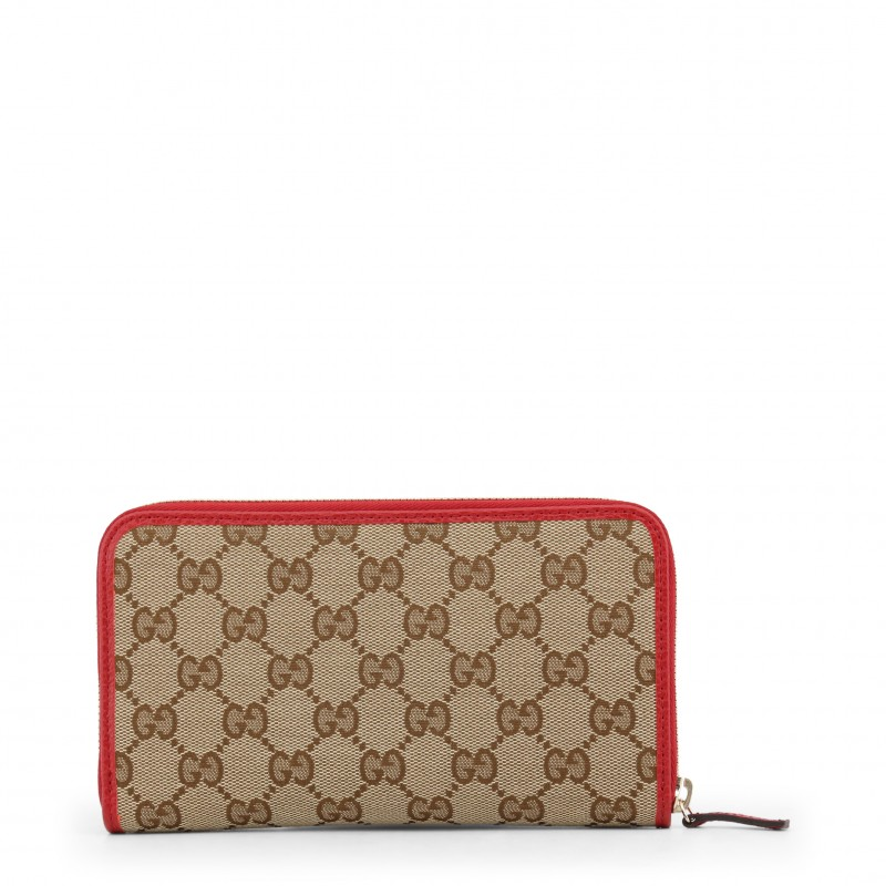 Gucci portafoglio grande rosso